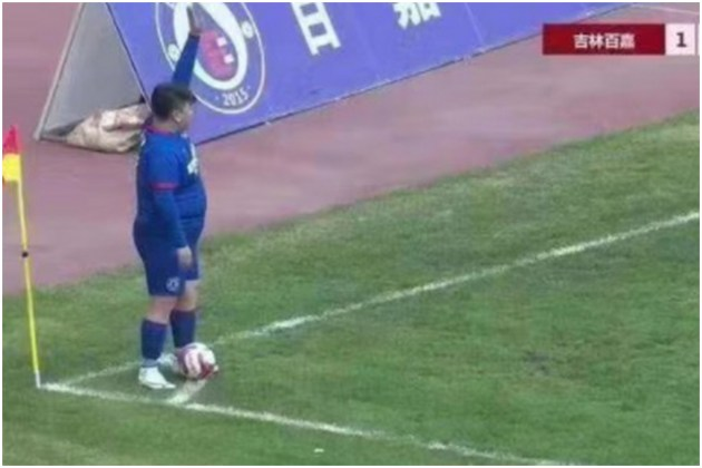 Chinese billionaire buys football team and forces the coach to let his overweight son play   video