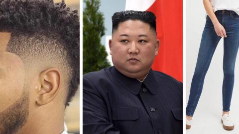 """Kim Jong-un bans wearing of """"crazy"""" hairstyle and skinny jeans in North Korea"""