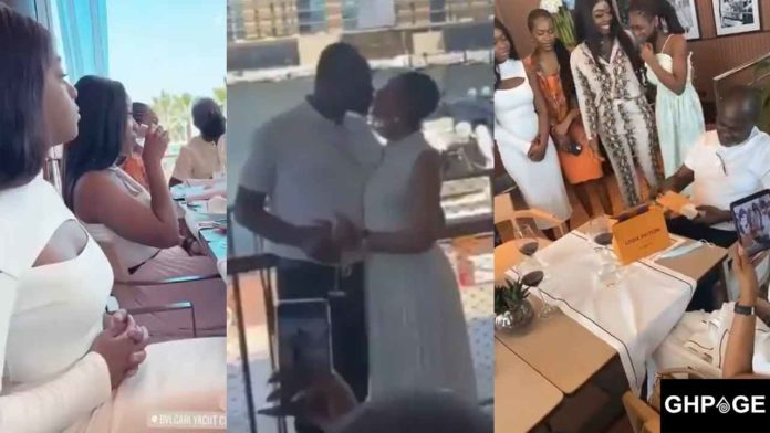 Kennedy Agyapong celebrates 61st birthday with his 22 children in Dubai