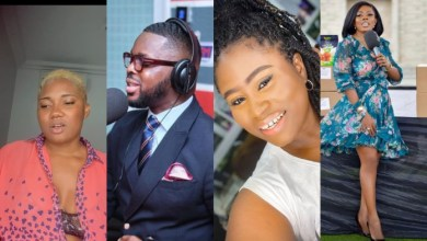 Photo of Nana Aba Anamoah allegedly unfollows Lydia Forson following allegations that Kojo Yankson slept with them