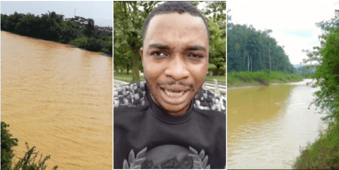"""""""Until the rivers in Ghana become colourless, no curse will befall on me as I'm fighting for the river gods"""" – Twene Jonas (+ Video)"""
