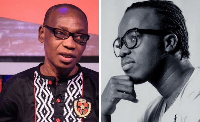 Akwaboah Jnr reveals his father's only wish now that he's visually impaired