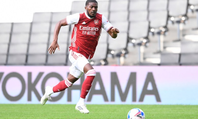 Arsenal's Ainsley Maitland-Niles involved in serious car accident (Photo)