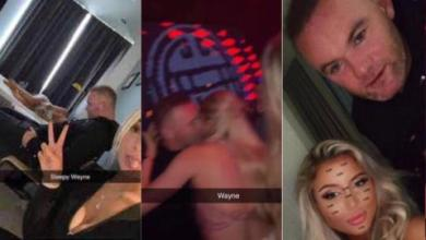 Photo of How fmr Man United star, Wayne Rooney passed out in hotel while having good time with sk!mpy-dressed ladies [Details]