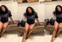 Photo of Farida Mahama posts photo showing her huge thighs days after turning 18