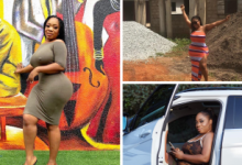 """Photo of More trouble for Moesha Buduong as she's being kicked out of her 5 bedroom mansion she claimed to have built """"by God's grace"""""""