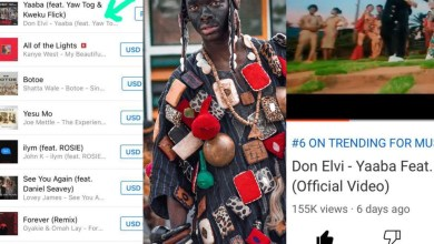 Photo of Don Elvi's Yaaba Hit Trends 2nd On ITunes Chart 6th On YouTube In Less Than A Week