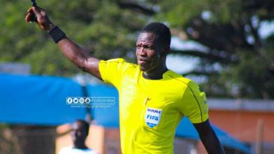 Photo of Young Ghanaian referee, Daniel Laryea picked by FIFA to officiate World Cup qualifier