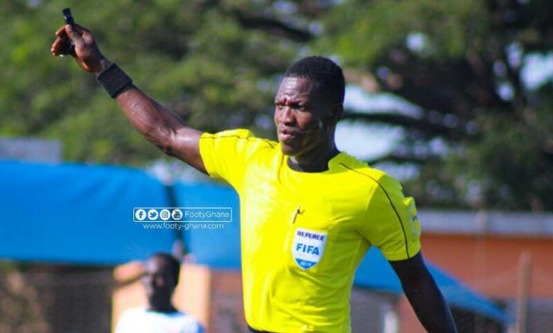 Young Ghanaian referee, Daniel Laryea picked by FIFA to officiate World Cup qualifier
