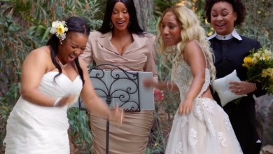 Photo of Shocking Moment When Cardi B Was Seen Officiating A Lesbian Wedding