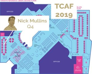 I'll be at TCAF 2019 this weekend