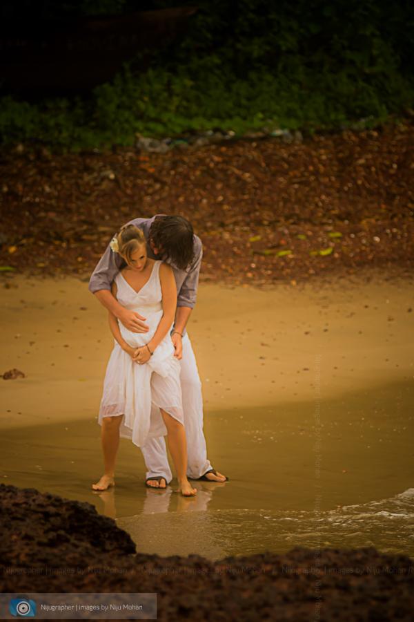 Luke and Sanne in Goa for Destination Wedding workshop