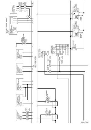 Wiring diagram  Engine Control System MR16DDT  Nissan