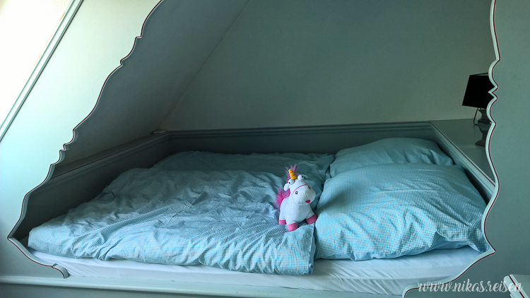 Schlafzimmer in Kajute