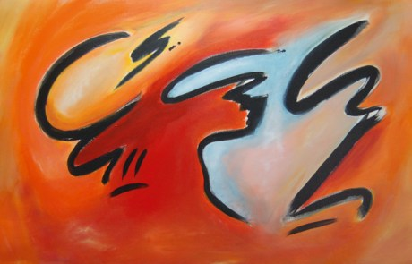 abstract-art-red-orange