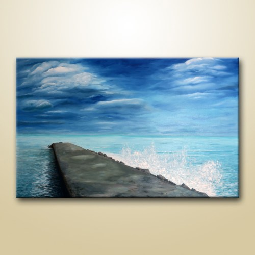 modern seascape painting