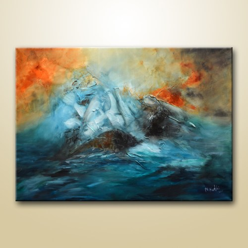 perfect storm painting