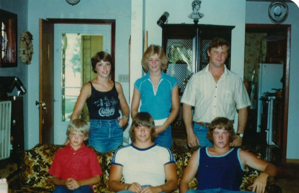 The DeMoe siblings, circa 1970s.