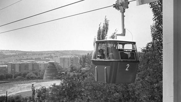 Teleférico Casa de Campo. 1969.
