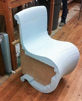 Fiberglass Chair – Nik Kinnaird