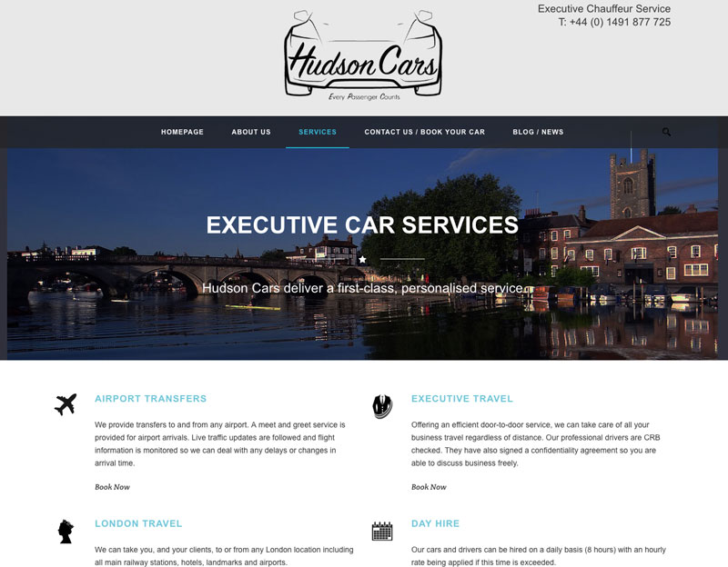 Hudson Cars Executive Car Hire