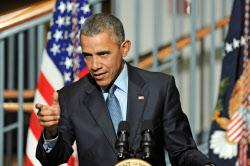 オバマ米大統領。任期も終わりに近づく同氏の動きが、日米関係の不安定要因になりうる=AP
