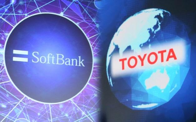 「トヨタとソフトバンク提携」の画像検索結果