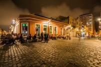夜も賑わう歴史地区。お洒落な雰囲気だ(Foto:Embratur)