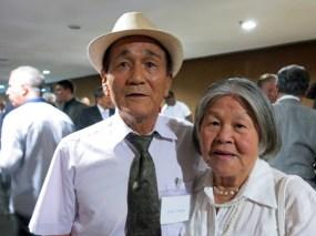 田中淳雄さんと奥さん(ブラジリア在住)