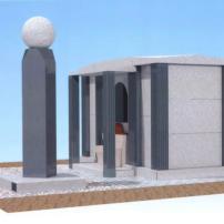 外国人専用の共同供養墓のデザイン