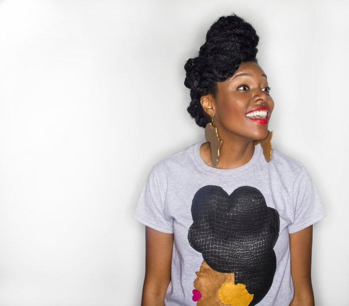 Quelly Rues's %22Naturally Me%22 Tee for the Naturalista Hair Show 2013 9