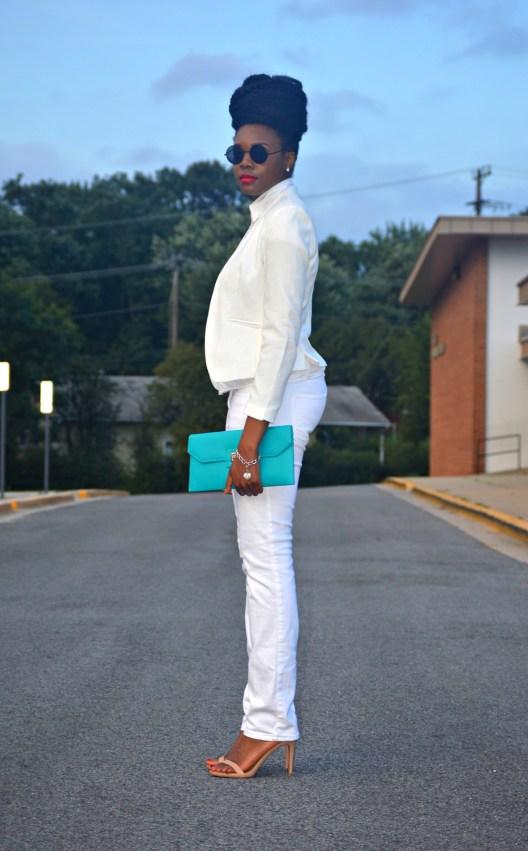 Nikki Billie Jean All White Suit 6