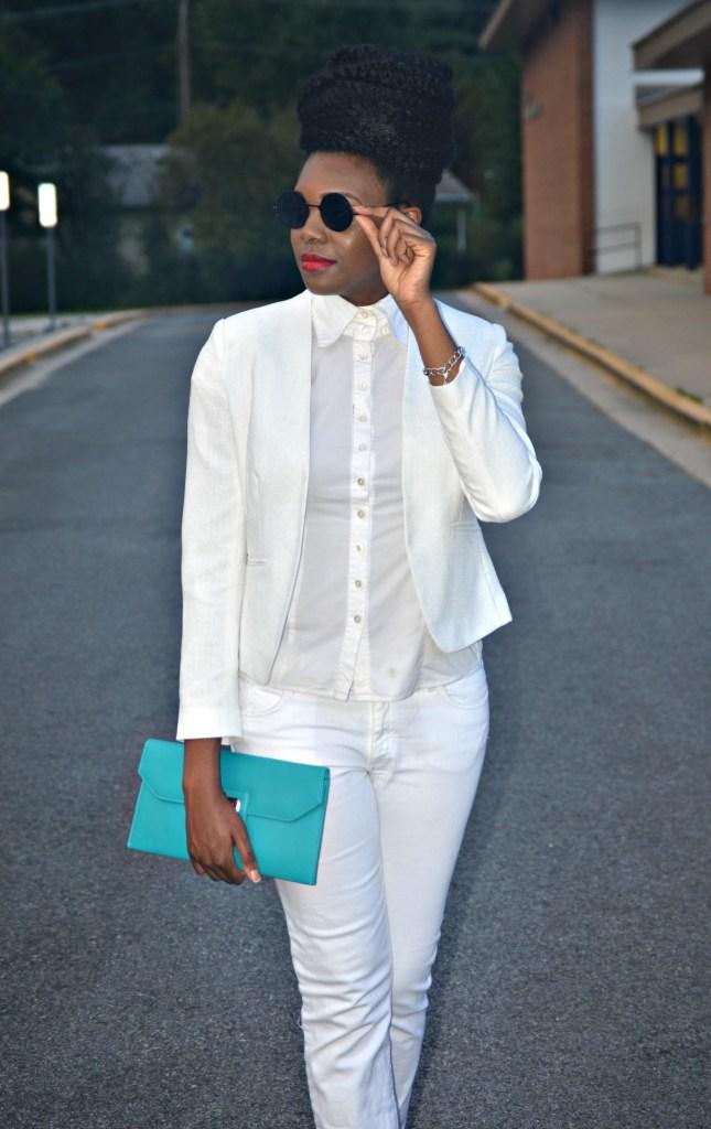 Nikki Billie Jean All White Suit 8