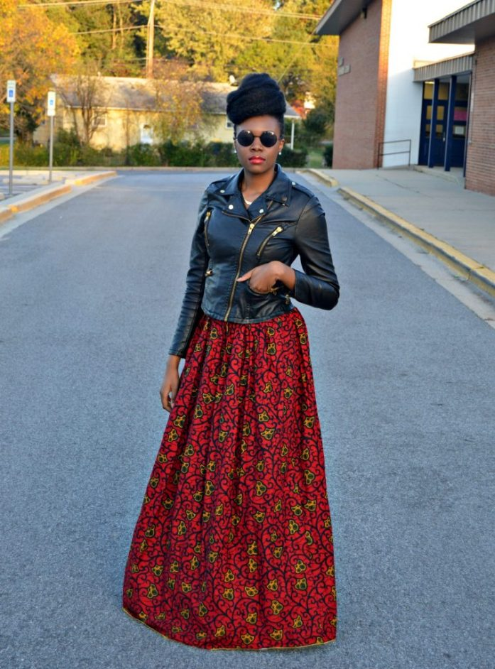leather-ankara-black-forever-21-leather-jacket-black-croptop-and-red-puksies-wardrobe-aymone-maxi-skirt-for-all-things-ankara-fashion-week-2014-day-1-1