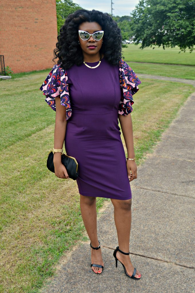 Jamila Keyhole Bell Sleeve Dress by Mode9ine for Edom and Wole's 2017 Wedding 2
