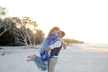 Rainbow Beach Wedding Photographer {Nikki Blades Photography}