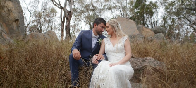 STANTHORPE WEDDING PHOTOGRAPHER – SAVINA LANE WINERY – TORI + JOHN – SNEAK PEEKS – NIKKI BLADES PHOTOGRAPHY