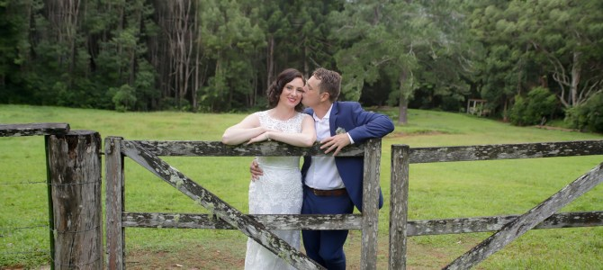 Featured Wedding – Sophie + Luke – Byron Hinterland, Byron Bay