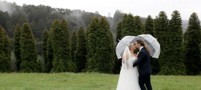 Featured Wedding – Georgia + Luke – Olinda, Dandenong Ranges