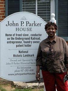 Nikki Grimes, John Parker House