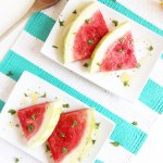 Sweet Cilantro Watermelon