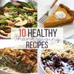 10 Healthy Thanksgiving Recipes! - www.nikkisplate.com
