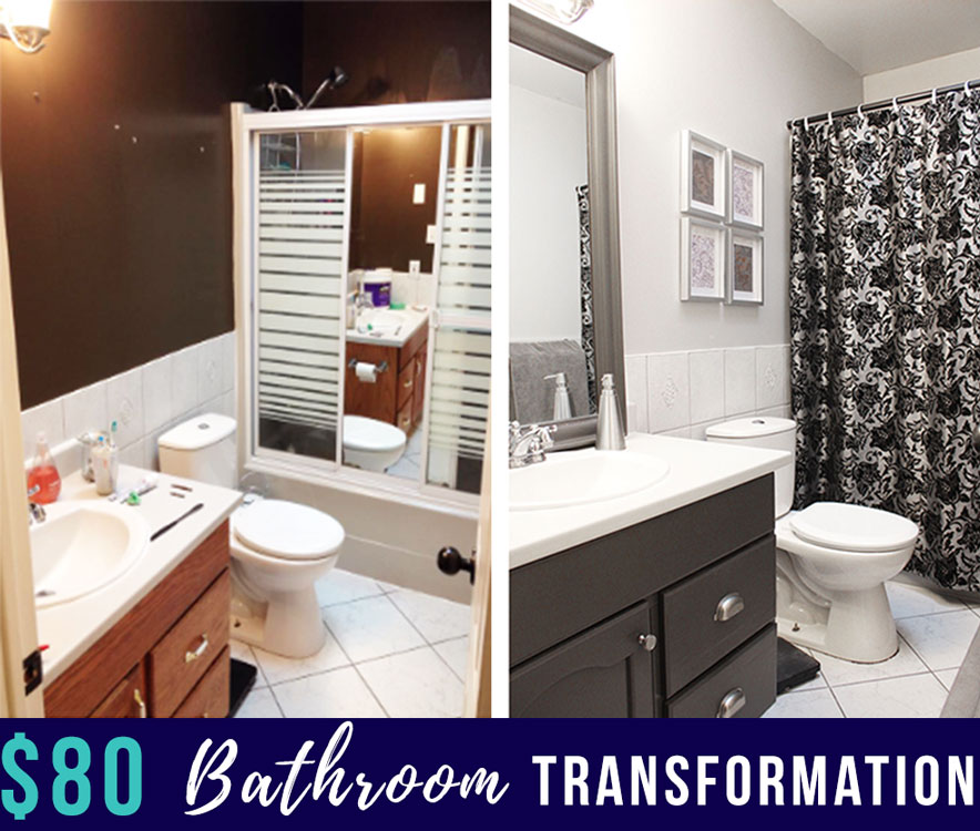 ... Changes I Wanted To Do Right Away Because I Am Not A Very Patient  Person, So I Needed To Figure Out How To Update Our Bathroom On A Student  Budget.