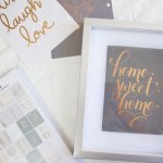 Easy DIY Framed Quotes