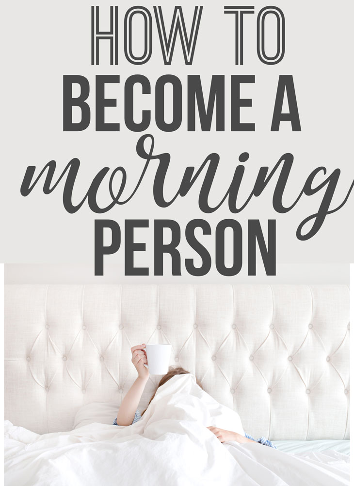 How to Become a Morning Person - www.nikkisplate.com