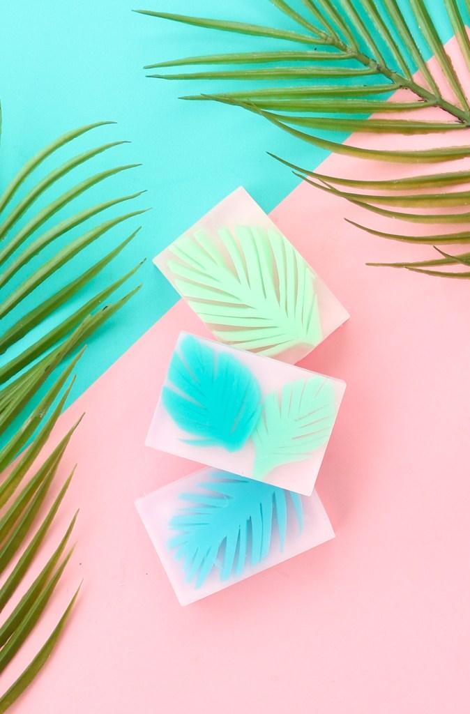 Palm Leaf Soap