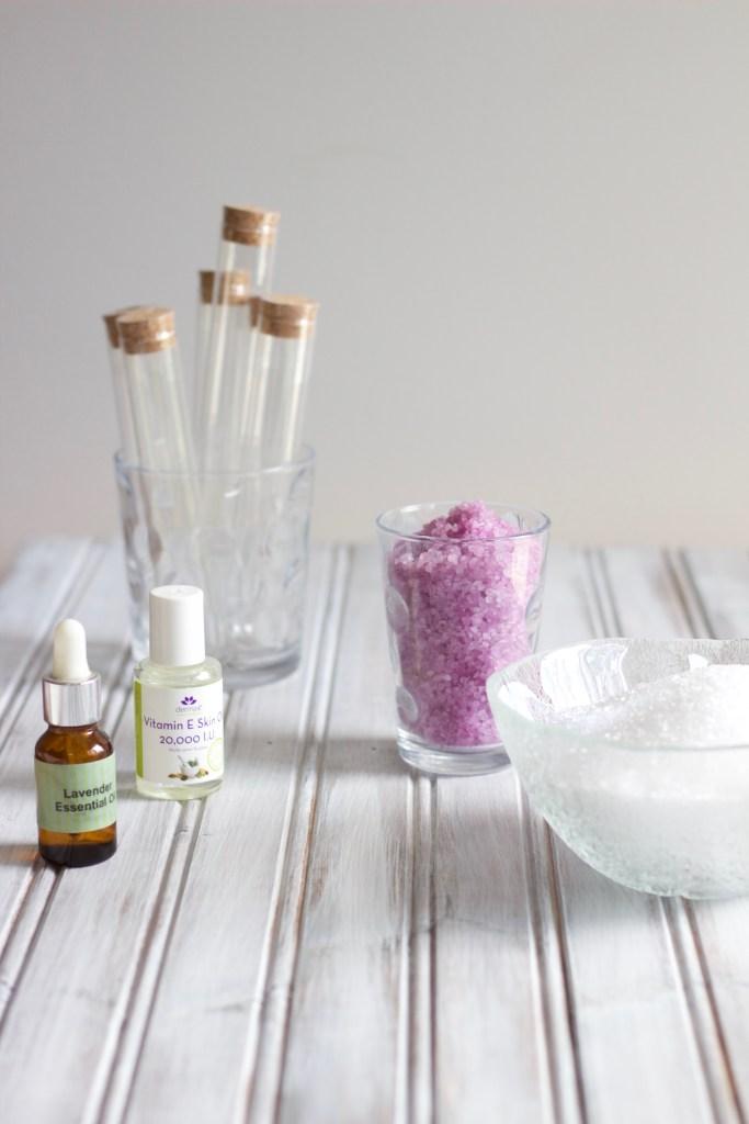 Layered Lavender Epsom Salts - www.nikkisplate.com