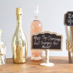 Cute Champagne Party Decor