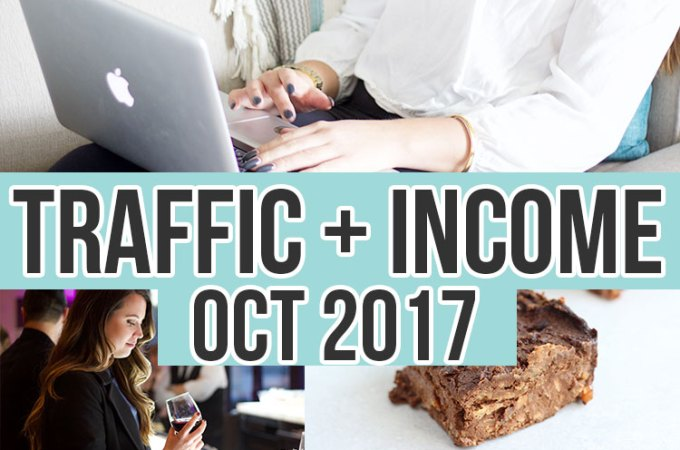 October 2017 Income and Traffic Report for Nikki's Plate