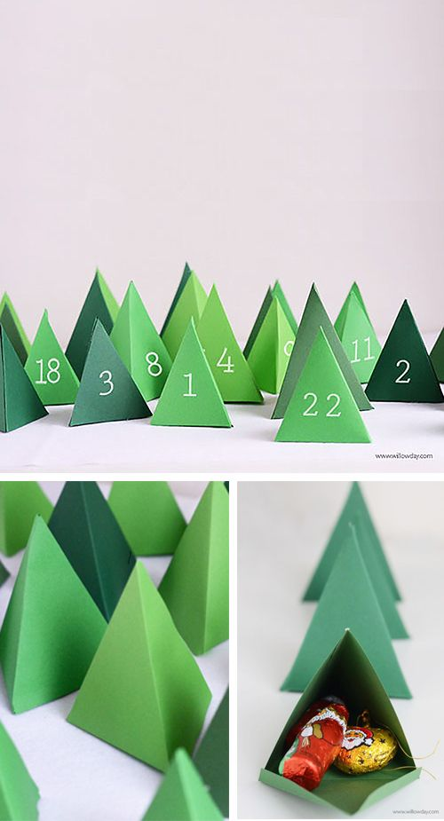 DIY Christmas Advent Calendars || Christmas decor, crafts and fun! Nikki's Plate